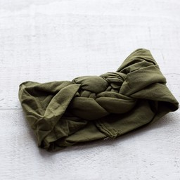 Mini Bretzel Mini Bretzel - Twinning Headband, Baby, Khaki