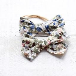 Mini Bretzel Mini Bretzel - Bows Headband Duo, Flowers