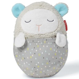 Skip Hop Skip Hop - Projecteur Musical en Peluche Hug Me / Hug Me Projection Soother, Agneau/Lamb