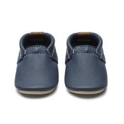 Minimoc Heyfolks - Soft Soles Shoes, Blue Heron