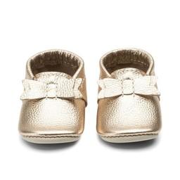 Minimoc Minimoc - Soft Soles Shoes, Narwal Bow