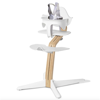 Nomi Nomi - Chaise Haute Tige Standard, Chêne Blanc