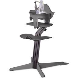Nomi Nomi - Chaise Haute Tige Standard, Chêne Noir