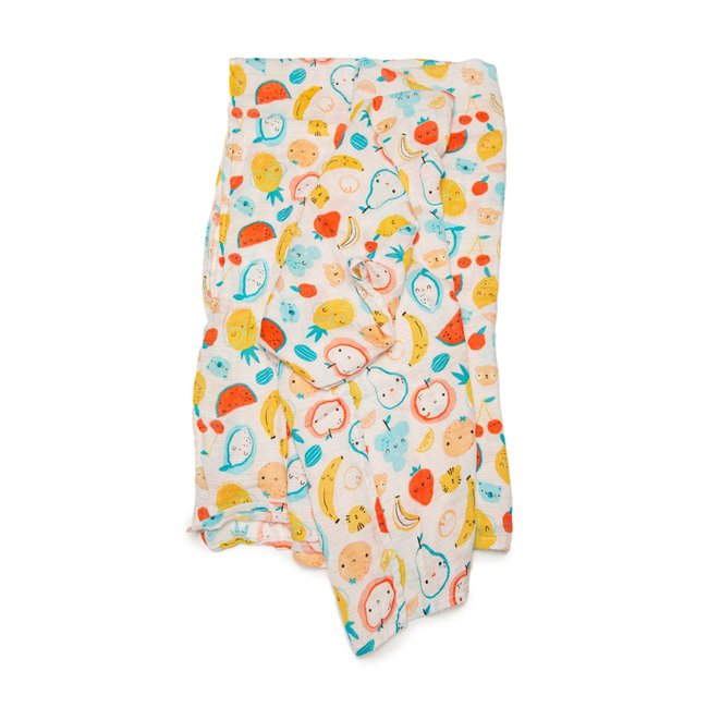 Loulou Lollipop Loulou Lollipop - Bamboo Swaddle, Cutie Fruits