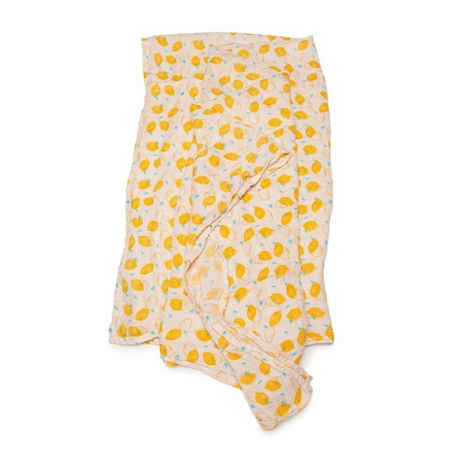 Loulou Lollipop Loulou Lollipop - Bamboo Swaddle, Cutie Lemon