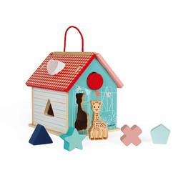 Janod Janod - Sophie la Girafe Shape Sorting House