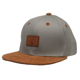 L&P L&P - Brooklyn Cap, Concrete Grey Caramel
