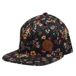 L&P L&P - Florence Cap, Black Floral