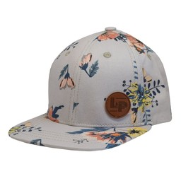 L&P L&P - Madison Cap, Sand Gray Floral