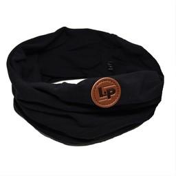 L&P L&P - Foulard de Coton Infinity, Noir