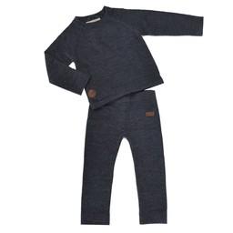 L&P L&P - Thermal Underwear Set in Merino Wool, Charcoal