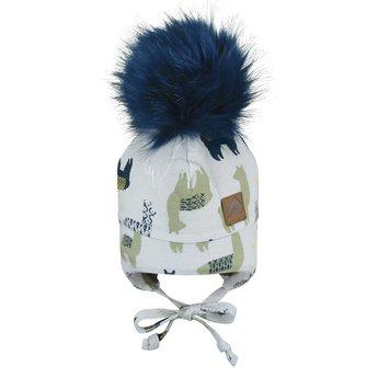 Perlimpinpin Perlimpinpin - Pompom Hat, Llamas
