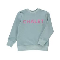 Birdz Children & Co Birdz - Chandail Chalet, Bleu Glacé Rose