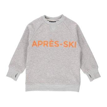 Birdz Children & Co Birdz - Après-Ski Sweat, Gray Orange