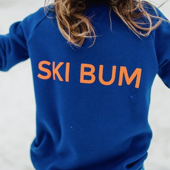 Birdz Children & Co Birdz - Ski Bum Sweat, Blue Orange