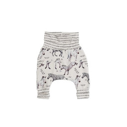 Little Yogi Little Yogi - Grow With Me Pants, Little Zebras