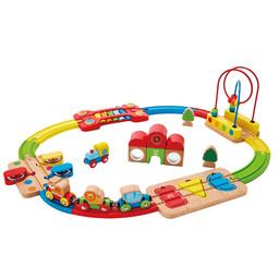 Hape Hape - Rainbow puzzle Railway