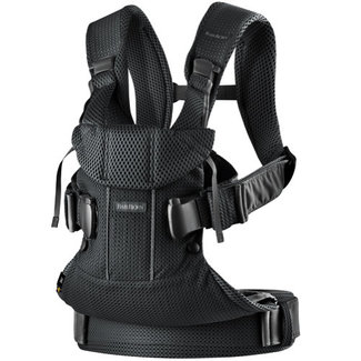 BabyBjörn BabyBjörn - One Air Baby Carrier, Black Mesh