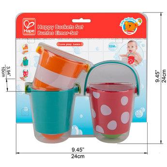 Hape Hape - Happy Buckets Set