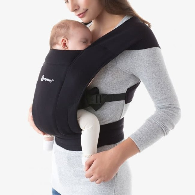 Ergobaby Ergobaby - Baby Carrier Embrace, Pure Black