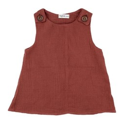 Bajoue Bajoue - Cotton Dress, Paprika