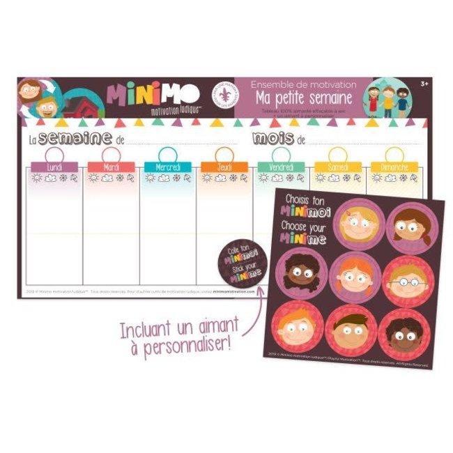 Minimo Minimo - Motivation Set, My Little Week