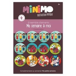 Minimo Minimo - Ensemble d'Aimants de Motivation, Ma Semaine à Moi