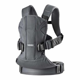 BabyBjörn BabyBjörn - One Air Baby Carrier, Anthracite Mesh