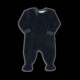 Coccoli Coccoli - Pyjama à Pattes en Velour, Neppy Nuits Bleues