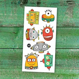 Pico Tatouages Temporaires Pico Tatoo - Temporary Tattoos, The Funny Robots
