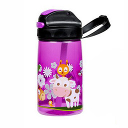 Filo Import Filo Import - Water Bottle Nero Emma 15 oz, Pink