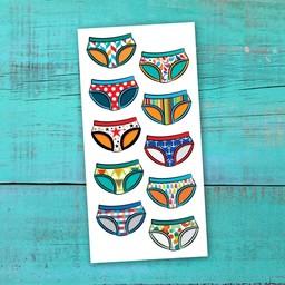 Pico Tatouages Temporaires Pico tatoo - Tatouages Temporaires/Temporary Tattoos, La Récréation-La Propreté-Les Bobettes/Toilet Learning