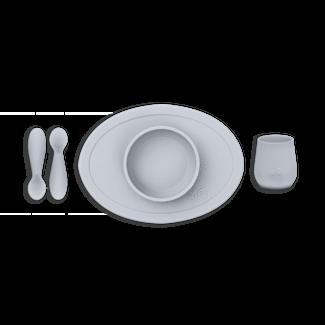 Ezpz EzPz - First Foods Set in Silicone, Pewter