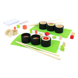 Milaniwood Milaniwood - Wooden Sushi Game Set, Make Maki