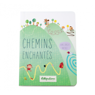 Lilliputiens Lilliputiens - Touch and Feel Book, Enchanted Roads