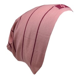 L&P L&P - Boston V20, Striped Cotton Beanie, Pink Rubis