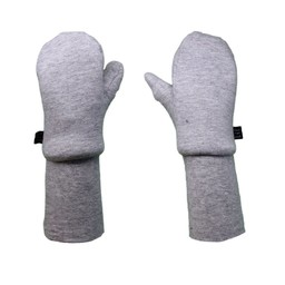 L&P L&P - Boston, Cotton Mitts with Polar Lined, Grey