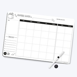 Les Belles Combines - Magnetic Family Planner, Monthly
