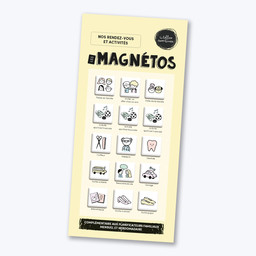 Les Belles Combines - Magnets, Appointments and Activities