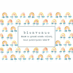 Stéphanie Renière - Greeting Card, Bienvenue