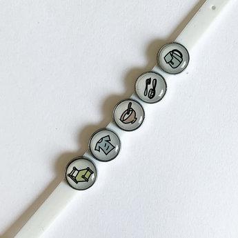 Les Belles Combines - My Morning Routine Bracelet