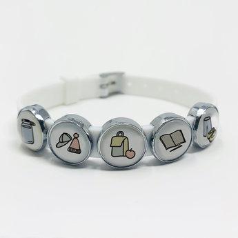 Les Belles Combines - In My School Bag Bracelet