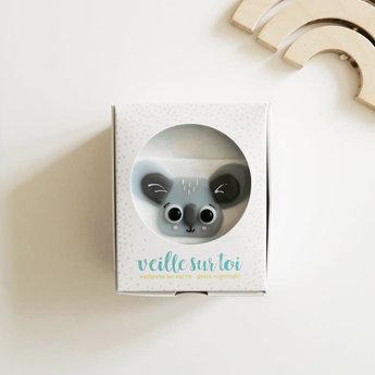 Veille Sur Toi Veille sur Toi - Glass Nightlight Koala