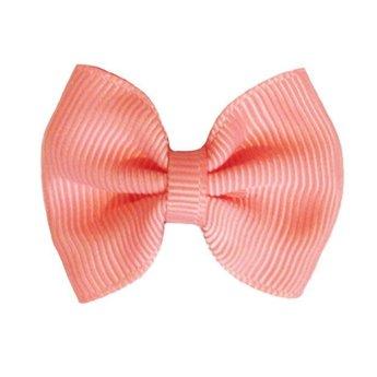 Baby Wisp Baby Wisp - Boucle à Peigne Grosgrain Classique/Mini Latch Classic Grosgrain Bow  Corail/Coral