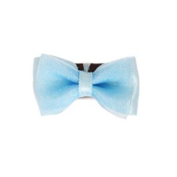 Baby Wisp Baby Wisp - Boucle à Peigne Organza/Mini Latch Organza Bow Bleu Cendrillon/Cinderella Blue