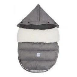 7 A.M 7AM - Housse LambPOD + Base/LambPOD, Gris Chiné/Heather Grey 18-36 mois/months