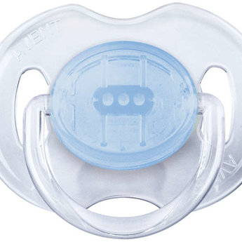 Philips Avent Philips AVENT - Translucent Soother, 0-6 months, Blue and Teal
