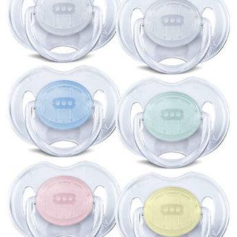 Philips Avent Philips AVENT - Suces Translucides, 0-6 mois, Bleu et Sarcelle