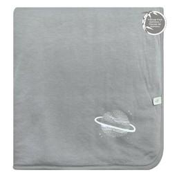 Perlimpinpin Perlimpinpin - Bamboo Blanket, Pebble Grey