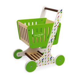 Janod Janod - Green Market Shopping Trolley